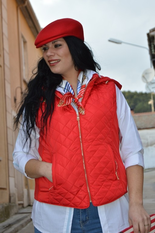 GORRA CAMPERA ROJA - Modas Eva 86e21be2b20